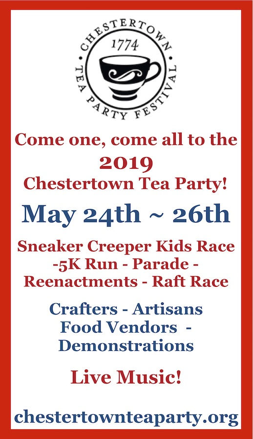 Chestertown Maryland Tea Party